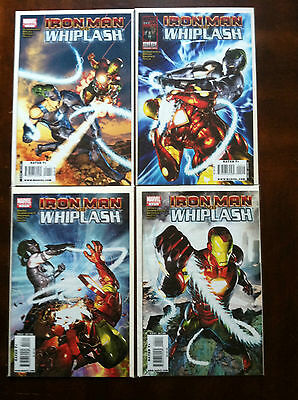 Iron Man vs. Whiplash #1-4 SET