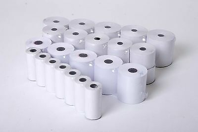 QTY 100 SMCO Till Printer Thermal Receipt Rolls For Sharp XE-A303 XEA303