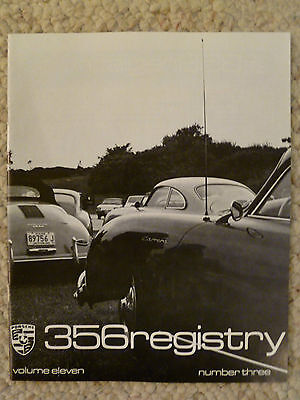 1985 Porsche 356 Registry Magazine Vol# 11 No. 3, RARE!! Awesome L@@K