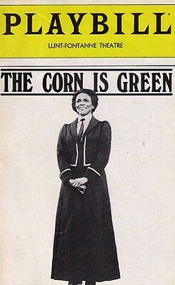 The Corn Is Green Broadway Playbill - Cicely Tyson