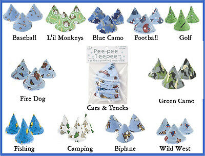 Beba Bean Pee-Pee Teepee Diapering Cover Up - Great Shower Gift for Baby Boy!