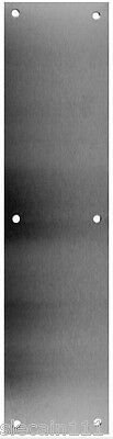 .050 Comercial Door Push Plates - Multiple Finishes - Made in the USA - Don-Jo