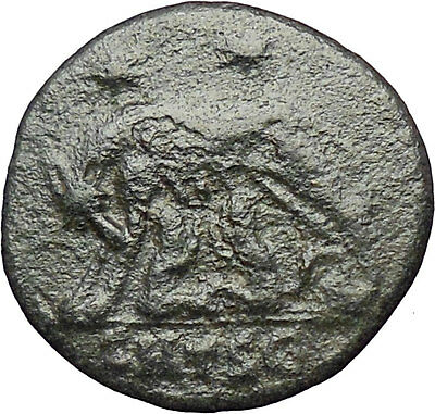 Constantine I The Great 330AD Ancient Roman Coin Romulus & Remus Wolf  i28941