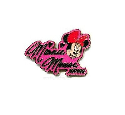 Minnie Mouse - Autograph (Artist Proof Pin)