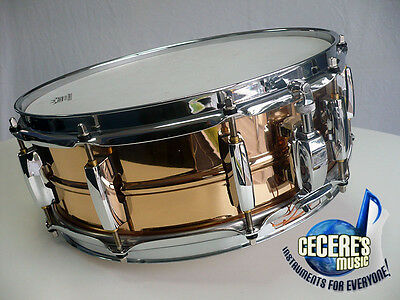 Pearl Sensitone Elite 14 x 5 Bronze Snare Drum