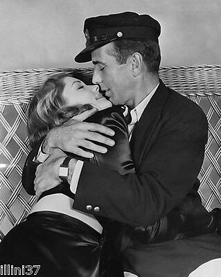 Humphrey Bogart & Lauren Bacall 8X10 Glossy Photo