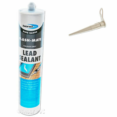 Flash-Mate Roof & Flashing Silicone Sealant, Lead Roofing Leaking Leaks & Repair