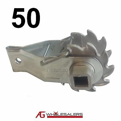 50 X Inline Ratchet Strainer For Tensioning Fence Wire Tensioner