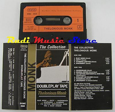 MC THELONIOUS MONK THE COLLECTION 1985 1 STAMPA ITALY DEJA VU no cd lp dvd vhs