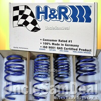 "H&r Lowering Sport Springs Set 07-16 Toyota Yaris 1.40""f 1.30""r Drop"