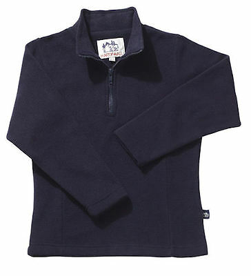Horse & Western  Harry Hall Kids Childrens Polar Fleece Top - Med - Navy