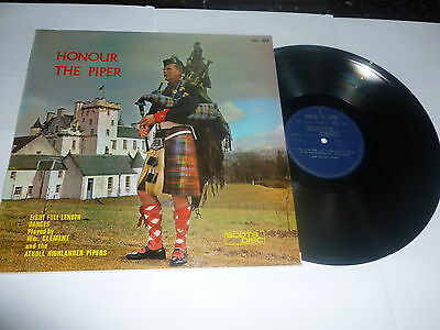HONOUR THE PIPER - Deleted 1967 UK LP