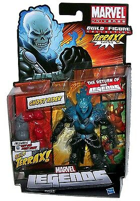 The Return Of Marvel Legends Build Terrax Figure Blue Variant Ghost Rider