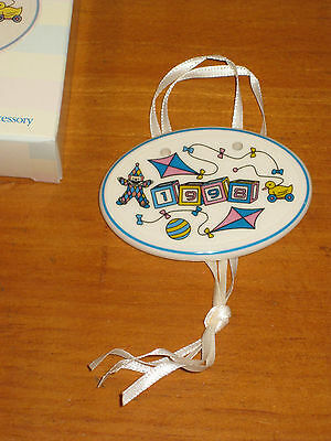 1998 Longaberger Baby Pottery Basket Tie On Nib Made in Usa