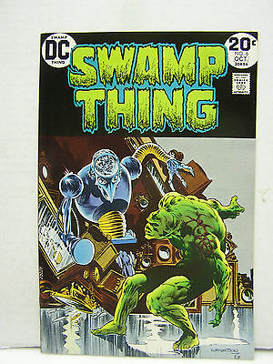 Swamp Thing  #6  DC Comic Book-Wrightson-  Hi Grade 1970s (L8103)