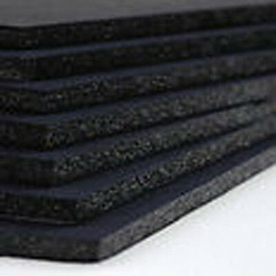 FOAMBOARD - 5mm A4 - 10 sheet pack -  Black Foam Core Board