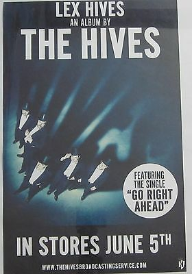 "The Hives - Lex Hives *rare limited promo poster 11""x17"""