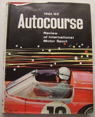 Autocourse Grand Prix Annual 1961- 62 Ex Library with good DW Motorsport F1 +