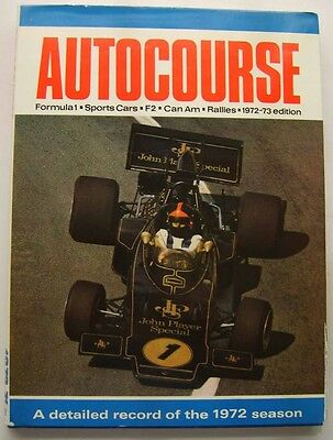 Autocourse Grand Prix Annual 1972-73 Ex Library with good DW Motorsport F1 +