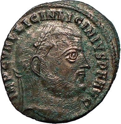 LICINIUS I Constantine the Great enemy  Ancient Roman Coin Jupiter Cult i26828