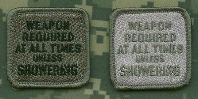 TALIZOMBIE© WHACKER JSOC افر INFIDEL VELCRO TAB: Weapon Required at All Time a