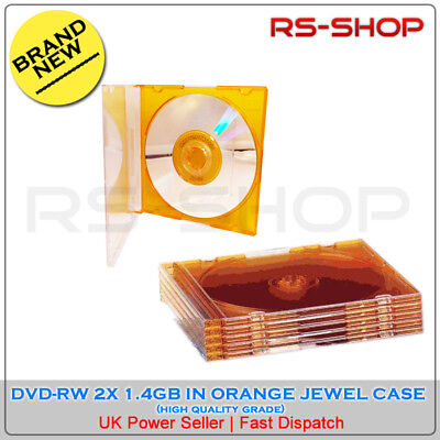 5 x 8CM DVD-R 1.4GB 30Min Camcorder Discs in Cases By Maxell