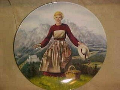 BRAND NEW Knowles Movie Sound Of Music Maria Julie Andrews Collector Plate