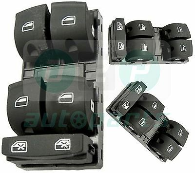 for Audi A4 B6, B7 Driver Side Electric Master Window Control Switch 8E0959851B