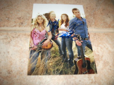 Gloriana  x3 Sexy Signed Autographed 5x7 ColorCountry Photo #2