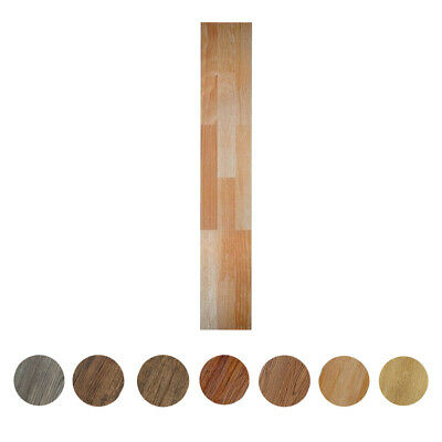 Self-Adhesive Vinyl Planks Hardwood Wood Peel 'N Stick Floor Tiles - 10 Pieces