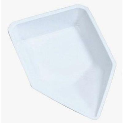 """EF1419C Polystyrene Pour-Boat Weighing Dish 4.3/4"""" x 7.3/4"""" x 1"""" Pack of 500"""