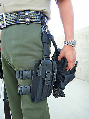 Zak Tool ZT212-55 Tactical Belt Clip for Rapid Deployment drop leg systems SWAT