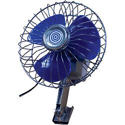 12v Deluxe Car / Van / Truck Oscillating Fan - NEW