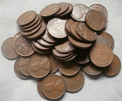 LOT 53 US Lincoln wheat penny one cent coin 1939 1939S 1939D