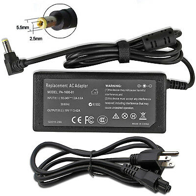 AC Adapter Charger Power for ASUS X54C-BBK5 X54C-ES91 X54C-NS92 X54L X54L-BBK2
