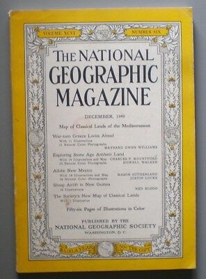 The National Geographic Magazine, December, 1949 - War-Torn Greece Looks Ahead