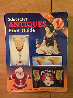 Schroeders Antiques Price Guide by Sharon Huxford (1995, 13th Edition)