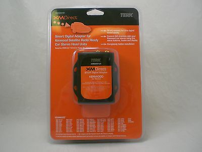 TERK NEW  XMDIRECT  KENWOOD ADAPTER XMDKEN100