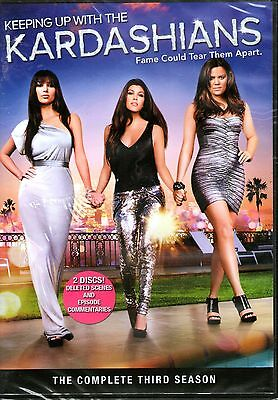 KEEPING UP WITH THE KARDASHIANS-Complete Third Season DVD-R1-BRAND NEW-Sealed