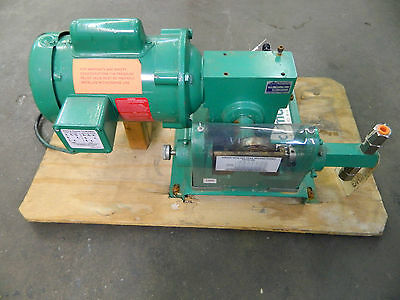 Buckman Laboratories 1460 Dual Piston Pump W/ Baldor 1/4Hp 1/4 Hp 115/208-230V