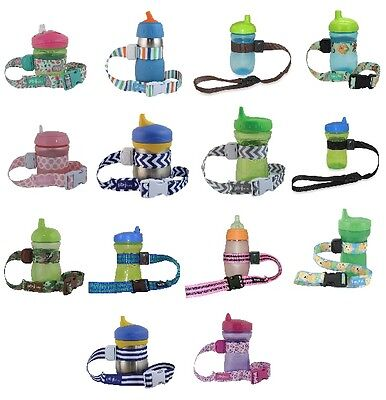 PBnJ SippyPal Sippy Pal baby bottle, toy, sippy cup holder strap for stroller