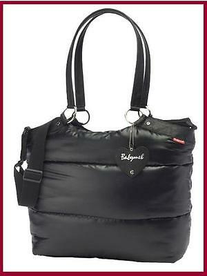 New Babymel Storksak Camden Carry All Puff Nappy Baby Changing Diaper Bag +More