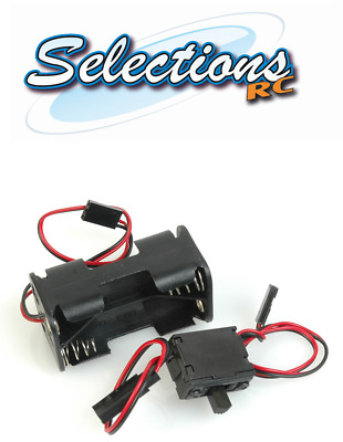 ACOMS Receiver PACK / Battery Box 4.8V FOR AA X 4 With Bec Lead for Nitro Car