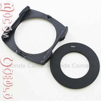 52mm Adapter Ring + Wide Angle Filter Holder for Cokin P Series Camera Lens