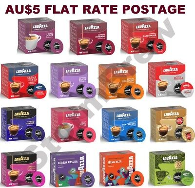 Lavazza A Modo Mio Coffee Pods Pack. Espresso Capsules All Blends, You Choose