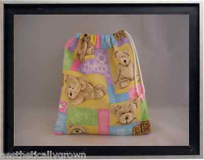 Gymnastics Leotard Grip Bags /  Boyds Bears Gymnast Birthday Goody Bag