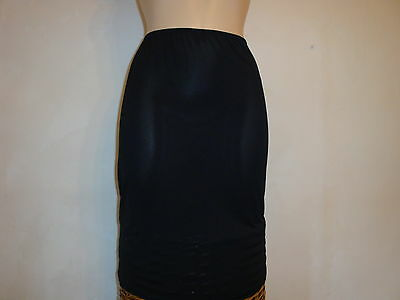 Ladies Waist Slip- black- various sizes and 3 lengths. m/f for Marks and Spencer