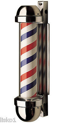 "William Marvy Model 405 Barber Pole 24"" x 6"" LIGHTED"
