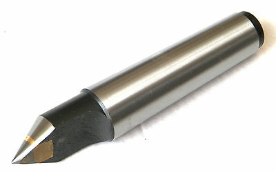 New Mt2 Precision Carbide Half Notched Dead Center Morse Taper #2 Lathe Center