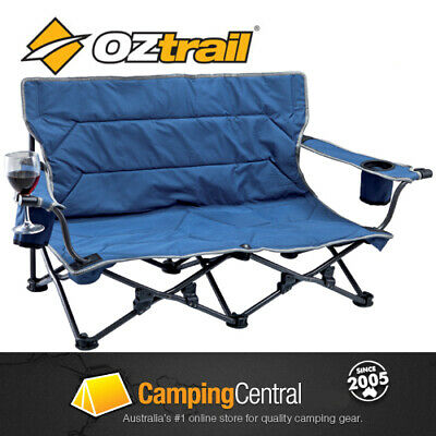 OZTRAIL FESTIVAL TWIN Folding Camping Picnic Beach Chair